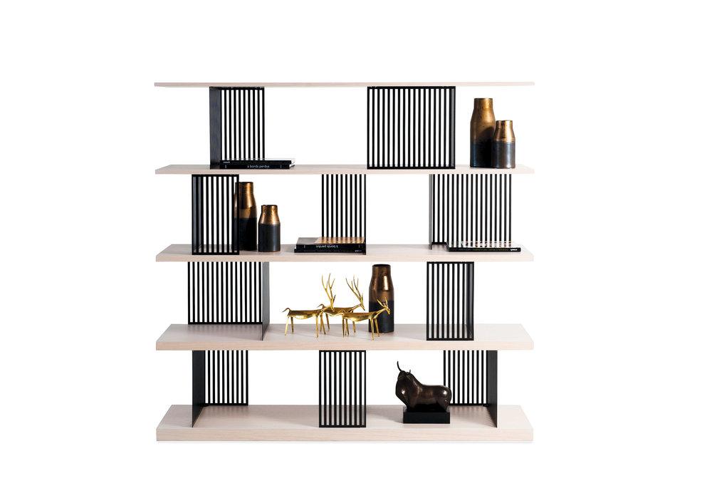PARTITION bookshelf — photo curtesy of Roche Bobois