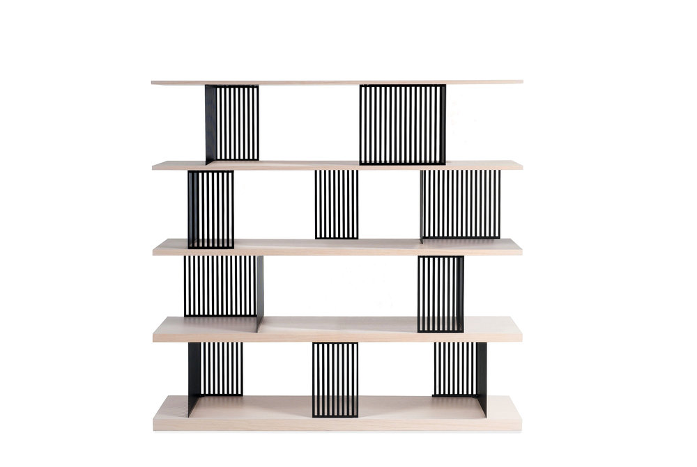 PARTITION bookshelf — photo courtesy of Roche Bobois