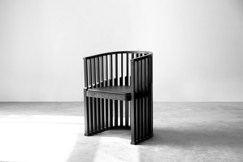 Chair — tinted oak