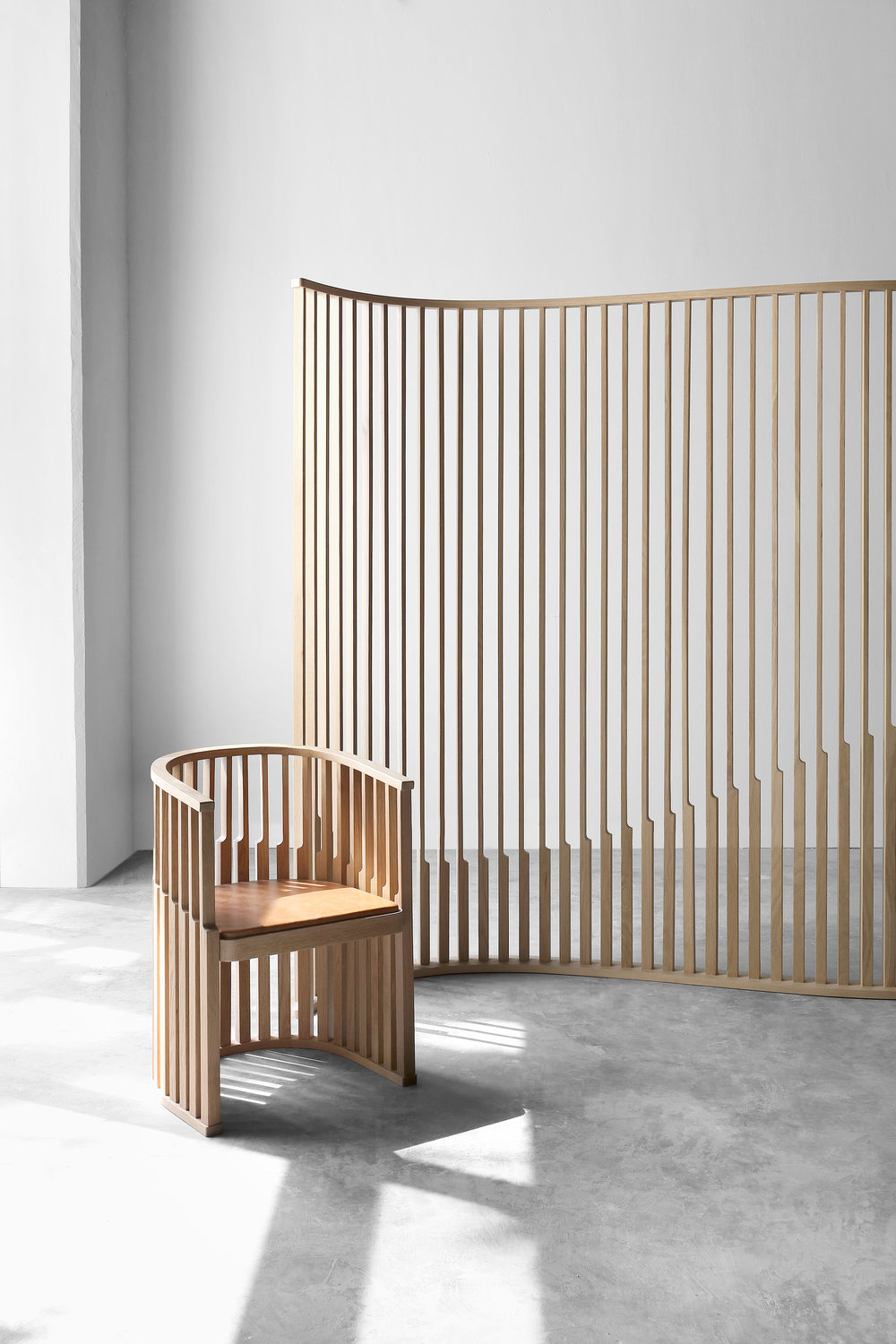 Chair and room divider