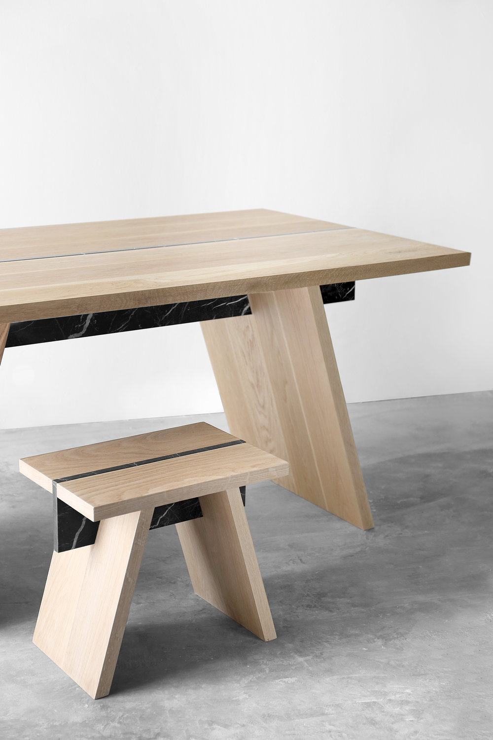 Table and stool