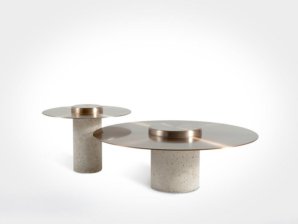 Canotier tables for Roche Bobois