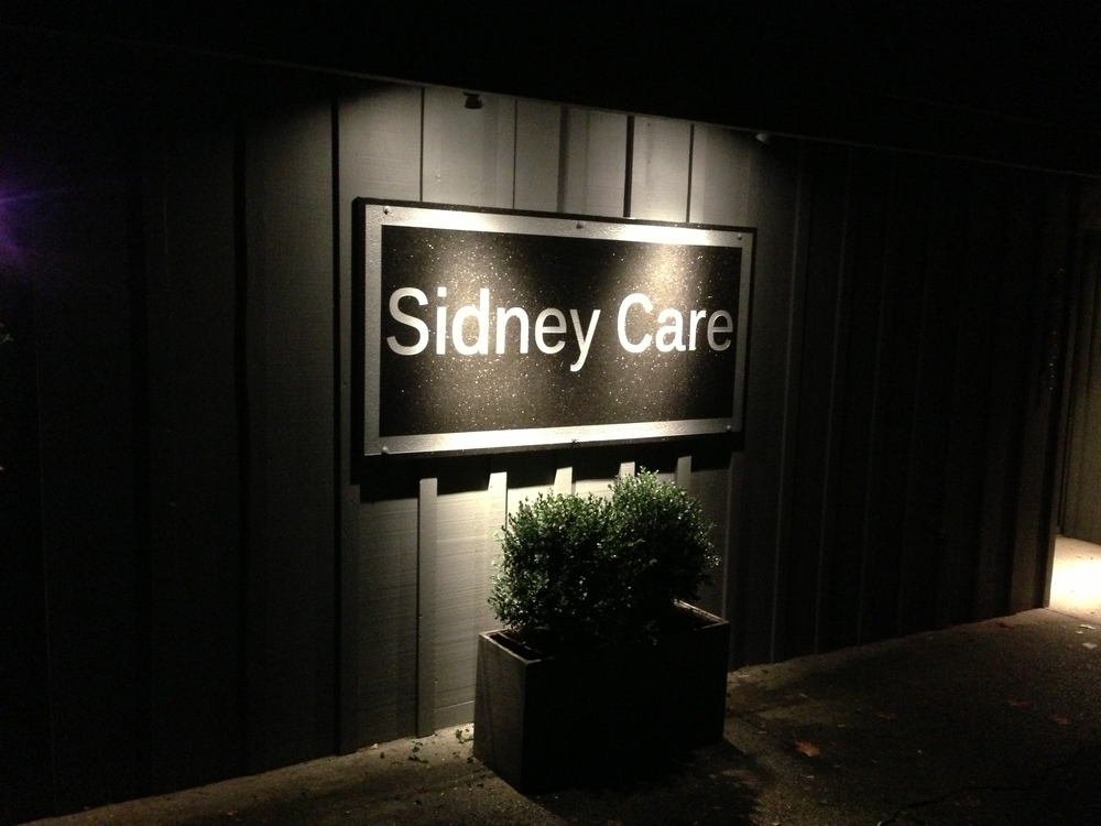 lighting and power renovations at Sidney Care Home