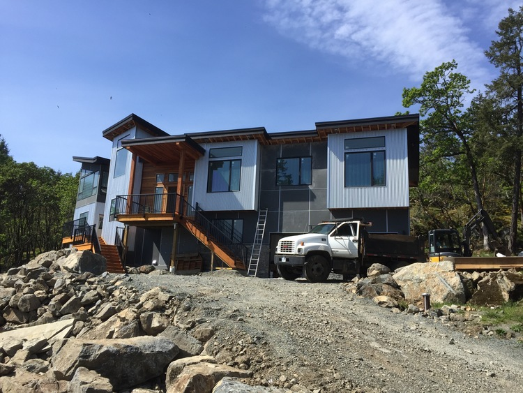 custom home wiring project nearly complete in the highlands