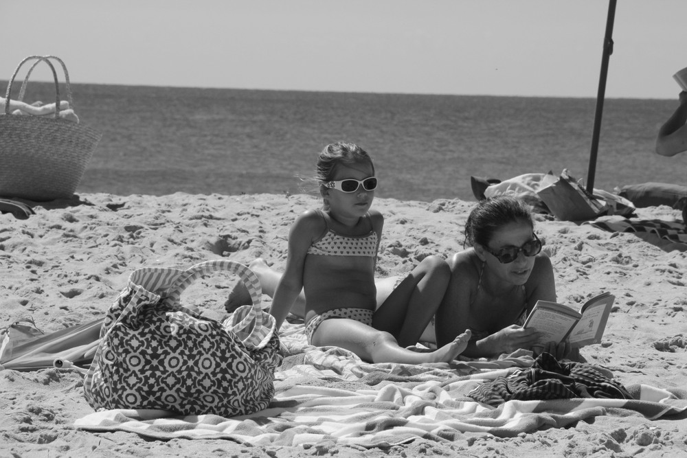Hamptons B&W 'Chicks'