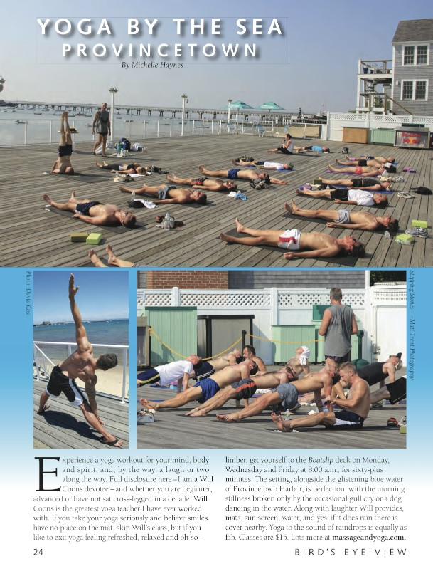Provincetown Yoga, 2013