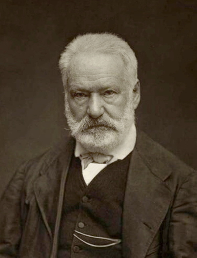 """Smile,"" said the cameraman. ""Miserables,"" said Hugo 