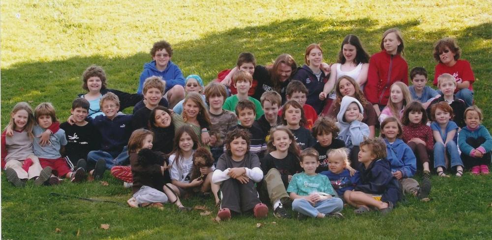 NoVaUnschooler Parkday 2009