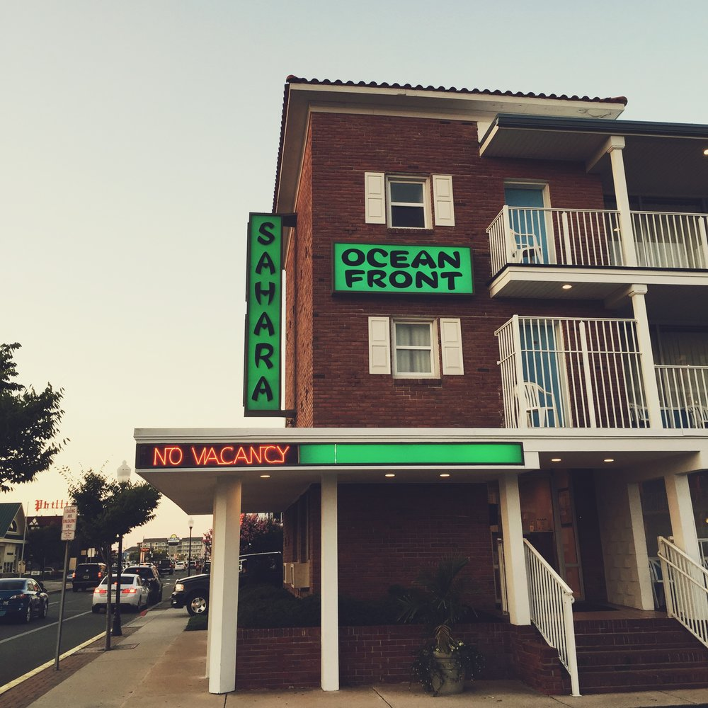 Sahara Motel - 19th Street Ocean City, Maryland 2016