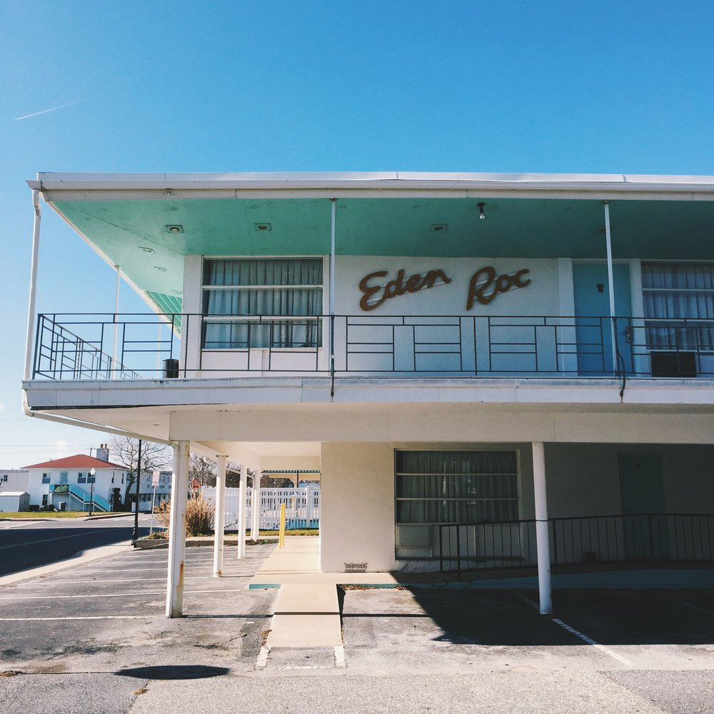 Eden Roc Motel - 20th Street Ocean City, Maryland 2016