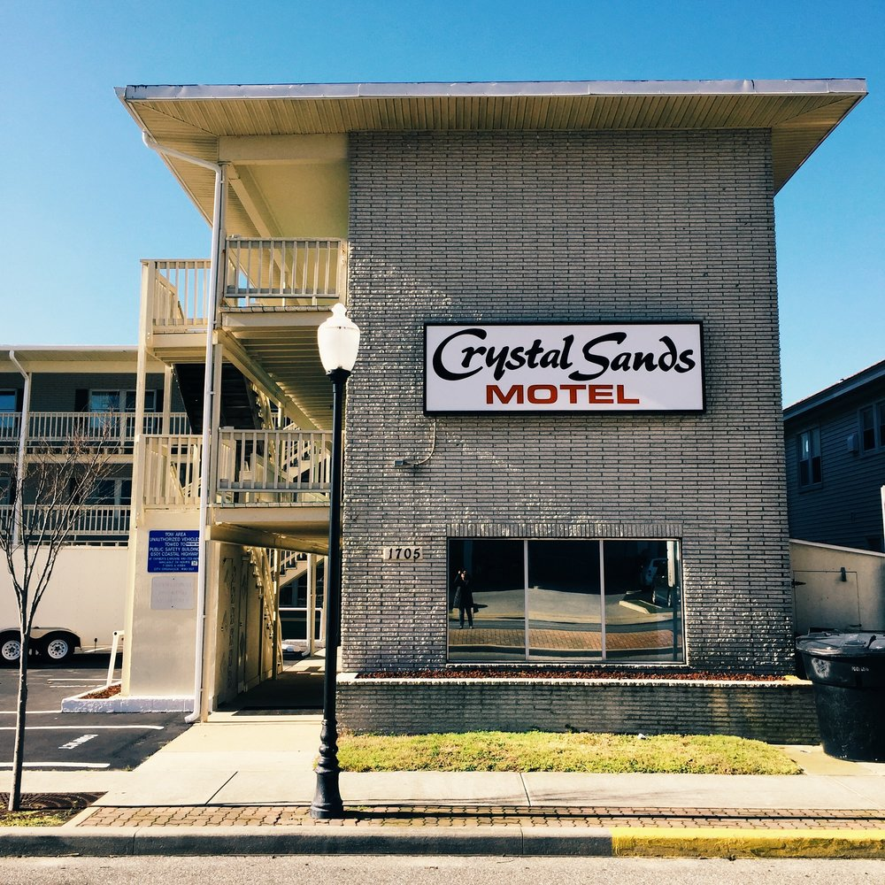 Crystal Sands Motel - 17th Street Ocean City, Maryland 2016