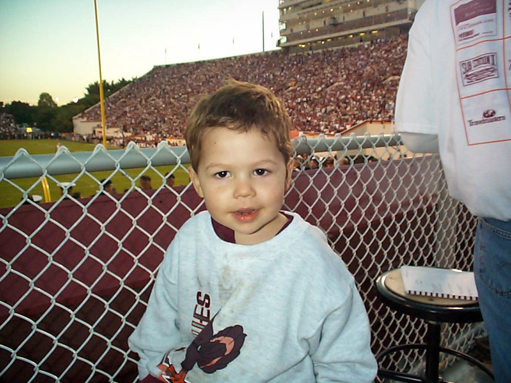 Lane Stadium, Blacksburg, Virginia - October 1999