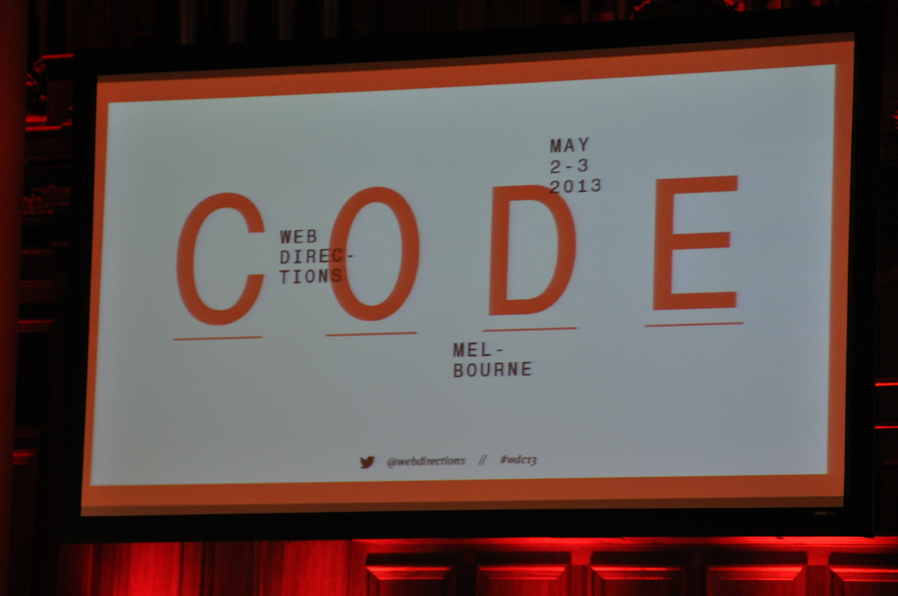 Web Code Directions 2013