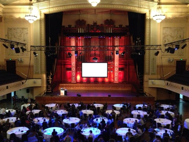 Web Directions Code 2013 at Melbourne City Hall