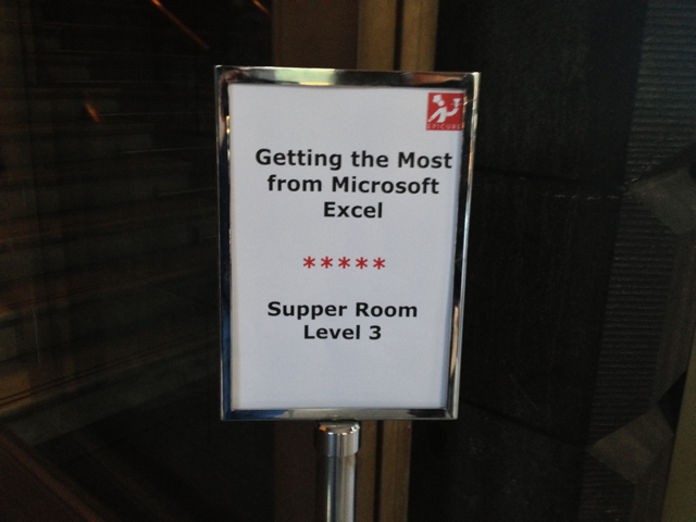 Meanwhile, at the same venue at Web Directions Code 2013...