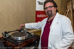 This is a nice picture of Bob Sattin from Part Time Audiophile's website. Please click on the picture to go there.