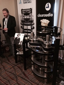 The German-made Clearaudio record player - a legend in the industry - beautiful, awesome & massive.