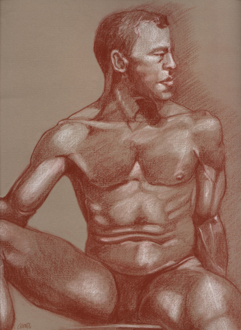 Man in the Nude
