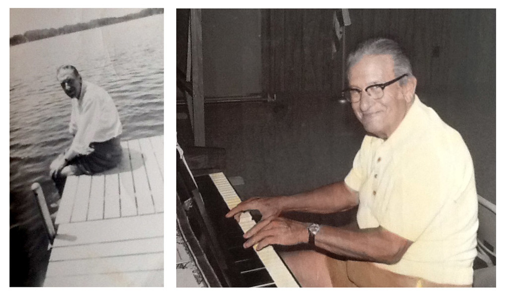 My grandfathers, Howard Jones and Phil Childs
