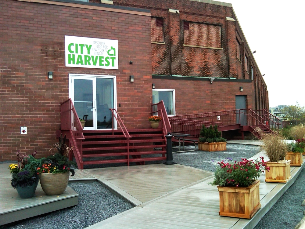 City Harvest Showroom & Receiving Facility, Long Island City - installed 2012