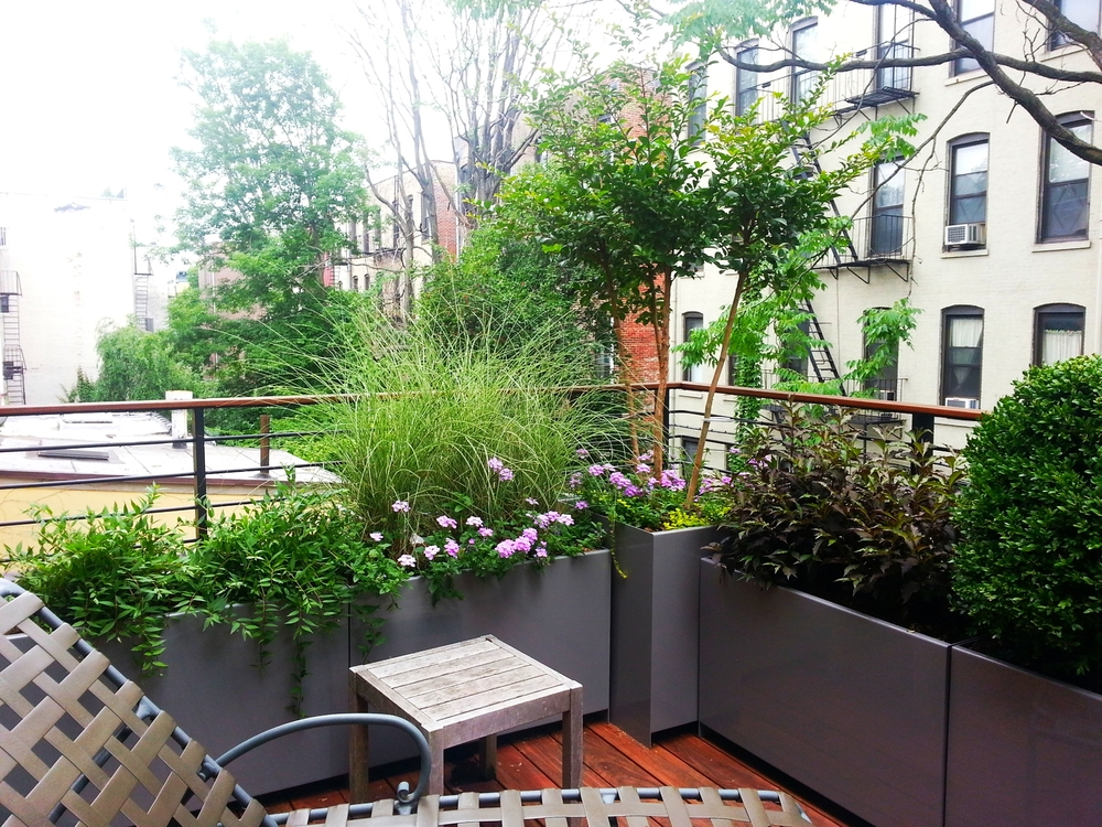 Roof Terrace Park Slope Brooklyn - installed 2013