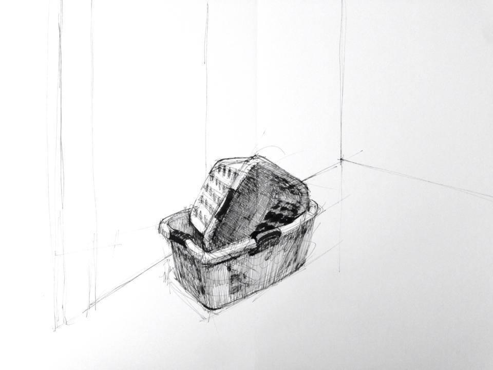 Sketchbook entry, 11/19/2013