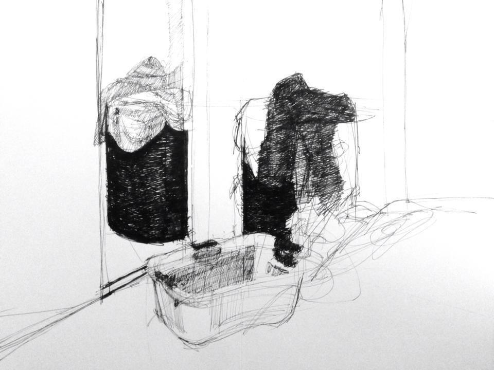 Sketchbook entry, 11/21/2013
