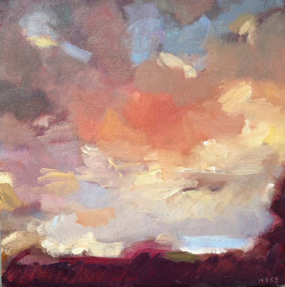 Sunset study (sold)
