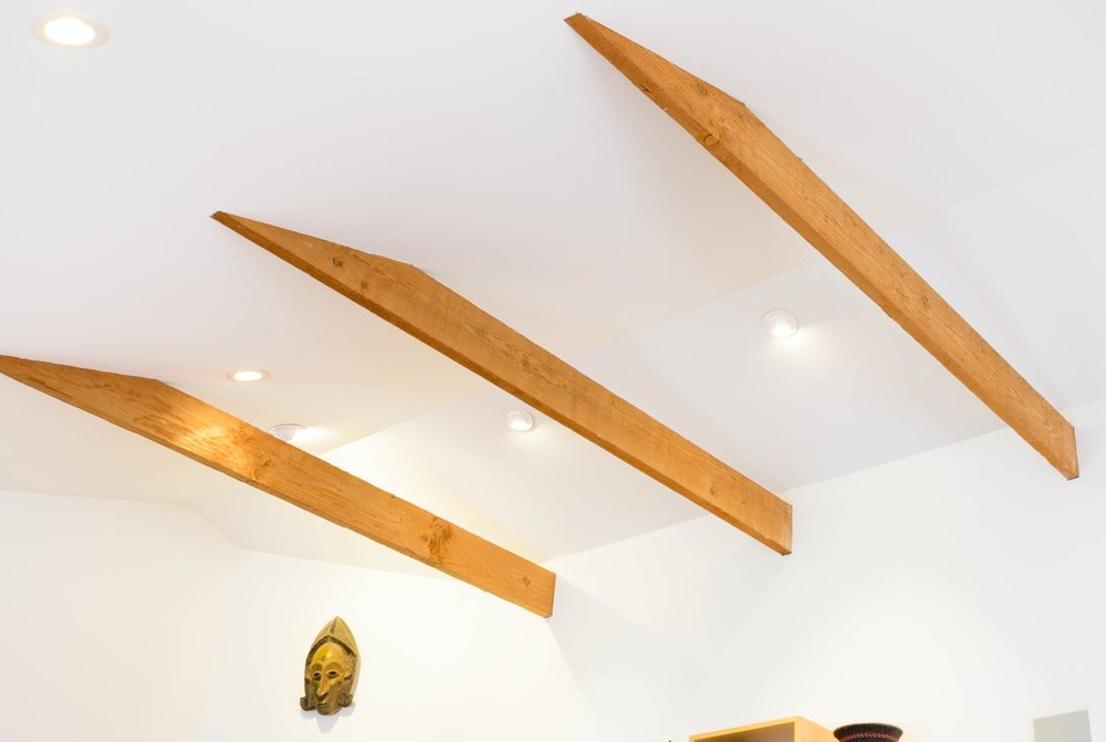 LED-Recessed-lights-Living-Room-Cathedral-Ceiling-Rought-Exposed-Beams.jpg