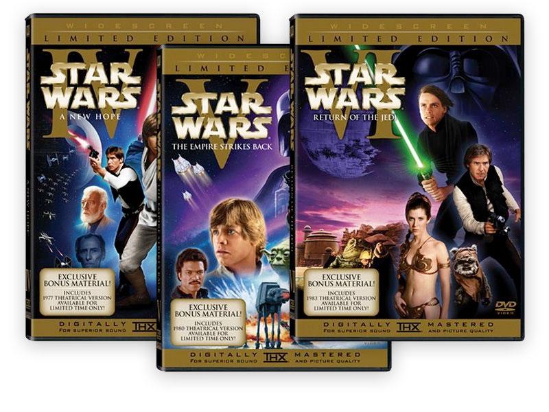 Star Wars IV - V - VI
