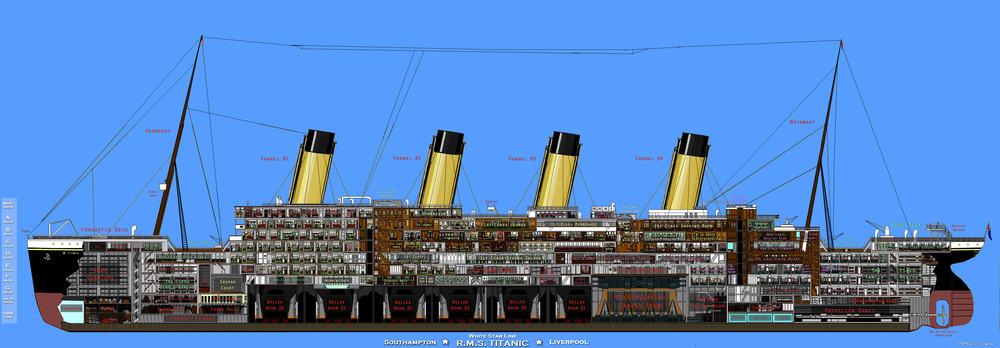 Скачать карту Titanic для Minecraft - RU-M.ORG