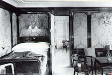 A first class stateroom