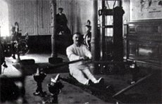 Titanic's gym was a world first.