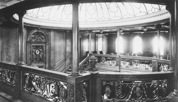 Titanic's grand staircase displayed a level of opulence unseen in any form of travel at the time.