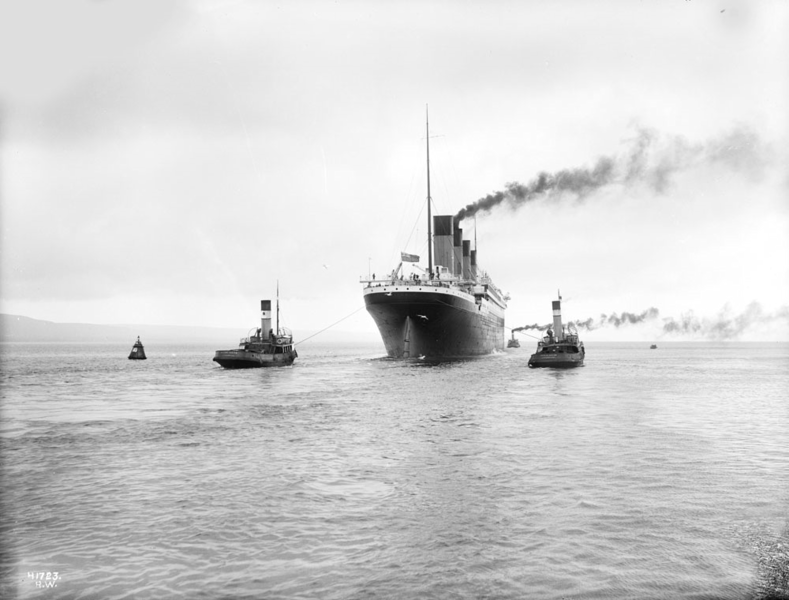 After six hours of sea trials, Titanic left Belfast at noon for the 550-mile journey to Southampton, under the command of Captain Herbet Haddock.  The journey to  Southampton  would prove to be an uneventful one.