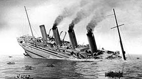 With all of the safety revisions Britannic had following the Titanic inquiry Britannic sank three times faster than her doomed sister
