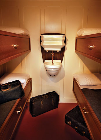 Although the cheapest. Titanic's third class accommodation was exceptional for 1912.