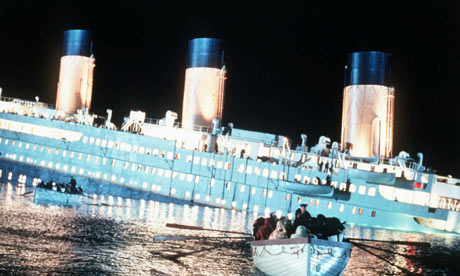 The lifeboats feared being sucked under when Titanic sunk like a vacuum and were under instruction to move well away from it until it sunk Only one boat would return afterwards to an eery silence.
