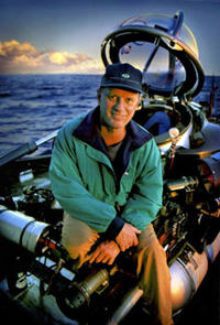 Dr. Robert Ballard is probably greatest marine archaeologists of all time.