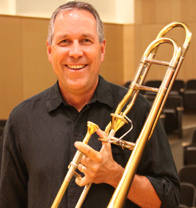 Alan Gemberling, trombone  University of Idaho