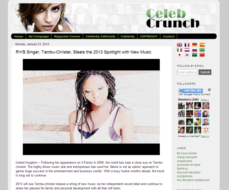 R n B Singer  Tambu Christel  Steals the 2013 Spotlight with New Music   Celeb CrunchCROPPPED.png