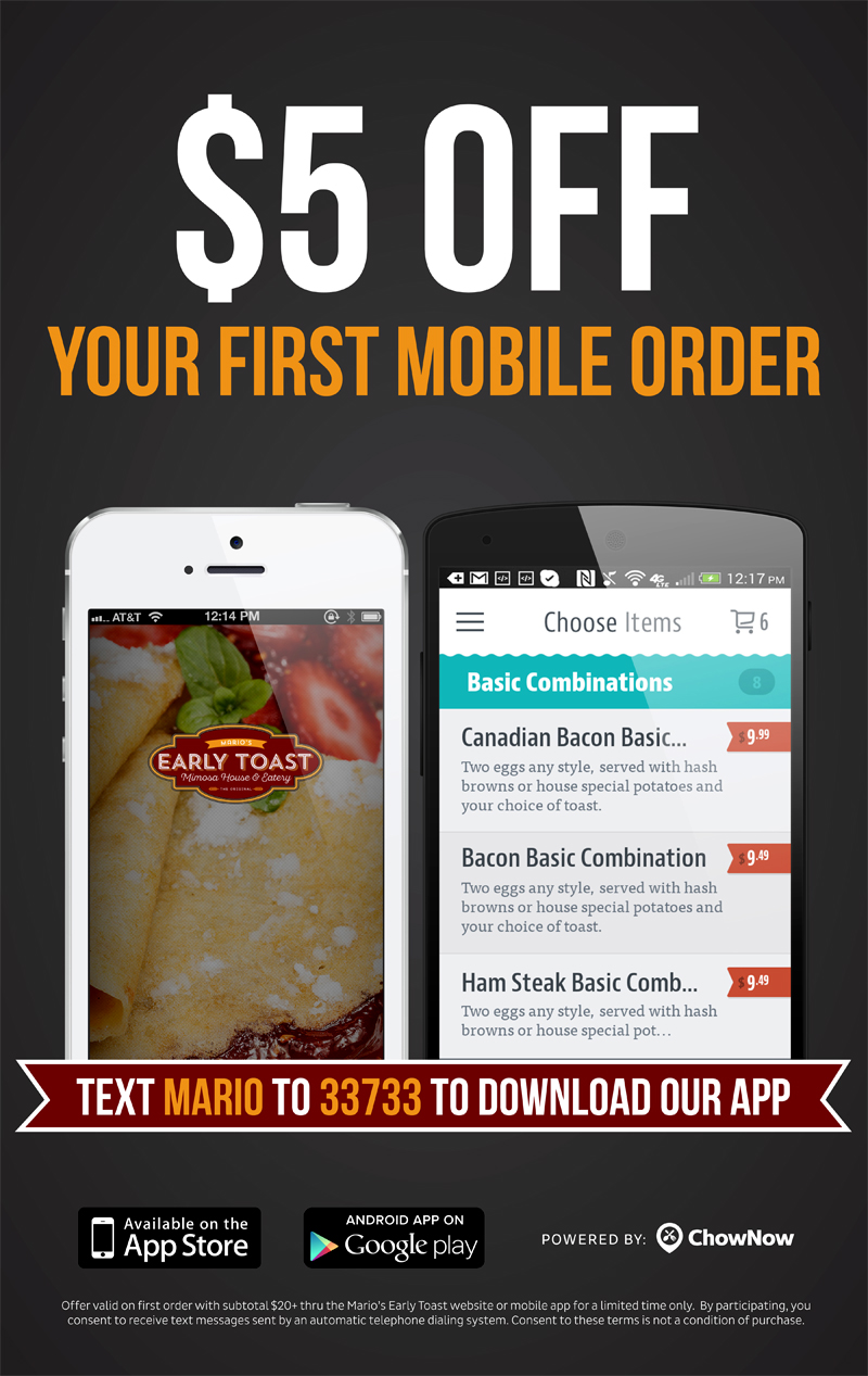 Mobile App Advertising - Online Ordering