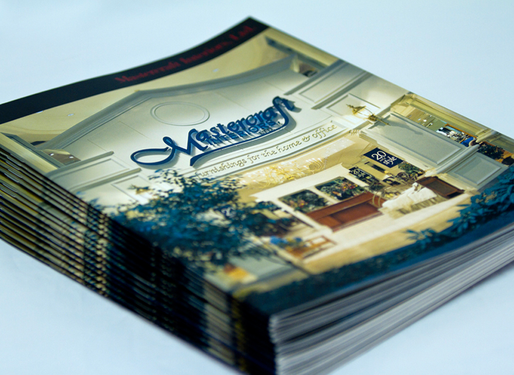 Annual Report cover for Mastercraft Interiors, LLC.