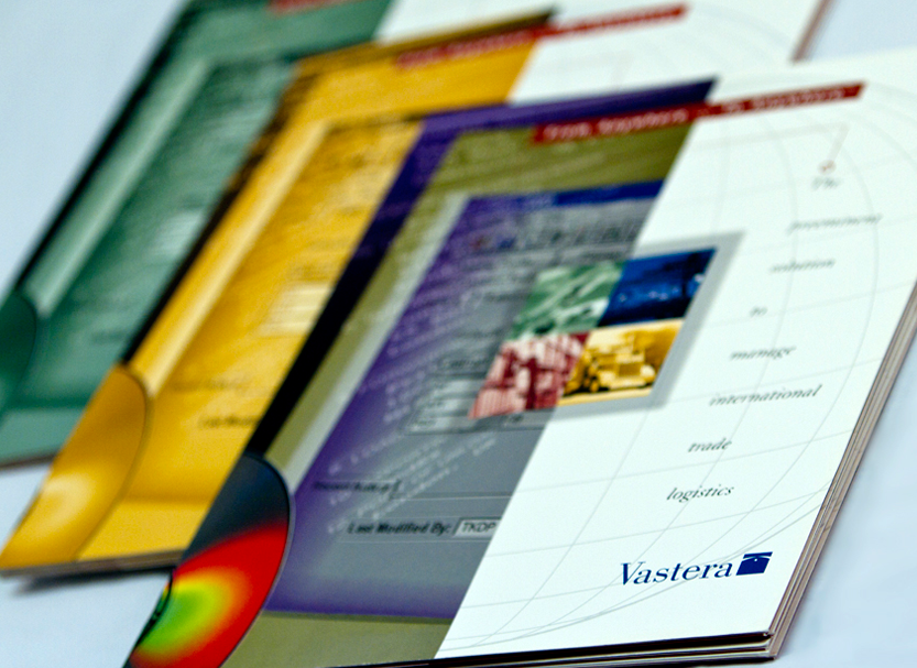 We developed three different corporate capabilities brochures showcasing product and services for Vastera, a global leader in providing solutions in trade management services.