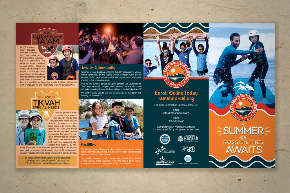 Camp Ramah of Northern California - Camper Brochure (outside)