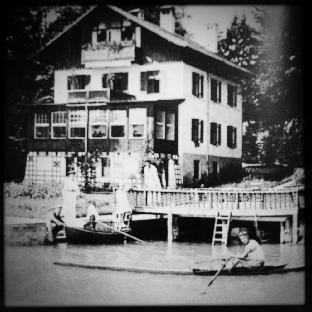 Meyrink's magical 'House to the Last Lantern' where he lived in Starnberg / Germany.