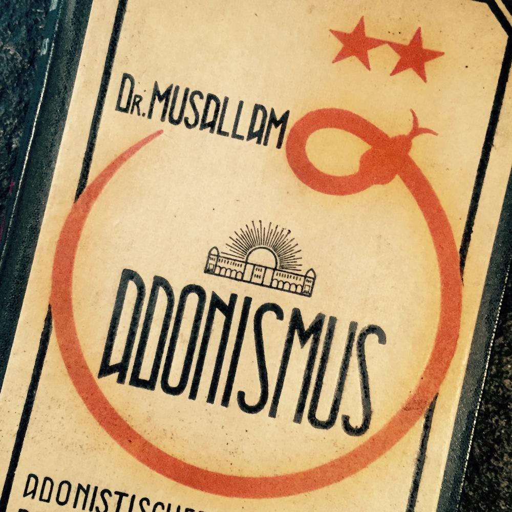 Dr.Musallam, Adonism, 1926