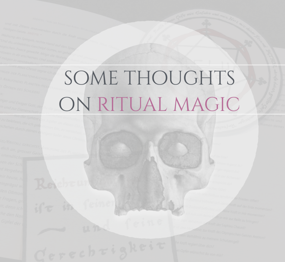 On Ritual Magic Theomagica.com