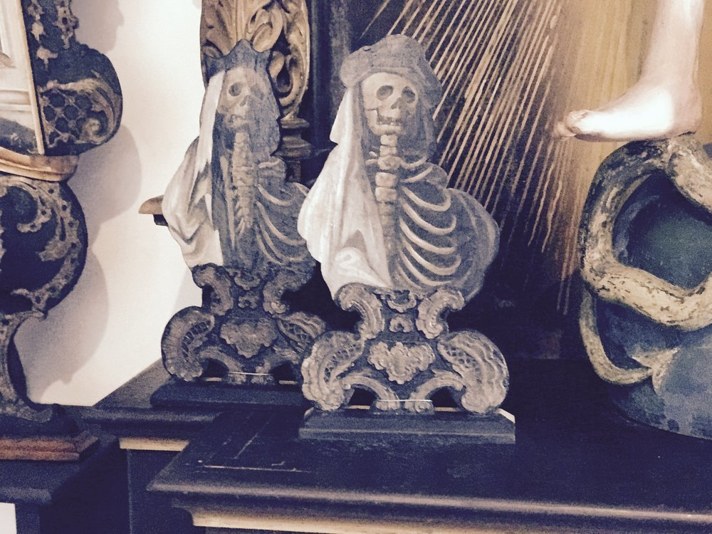 close up of the dead ancestors