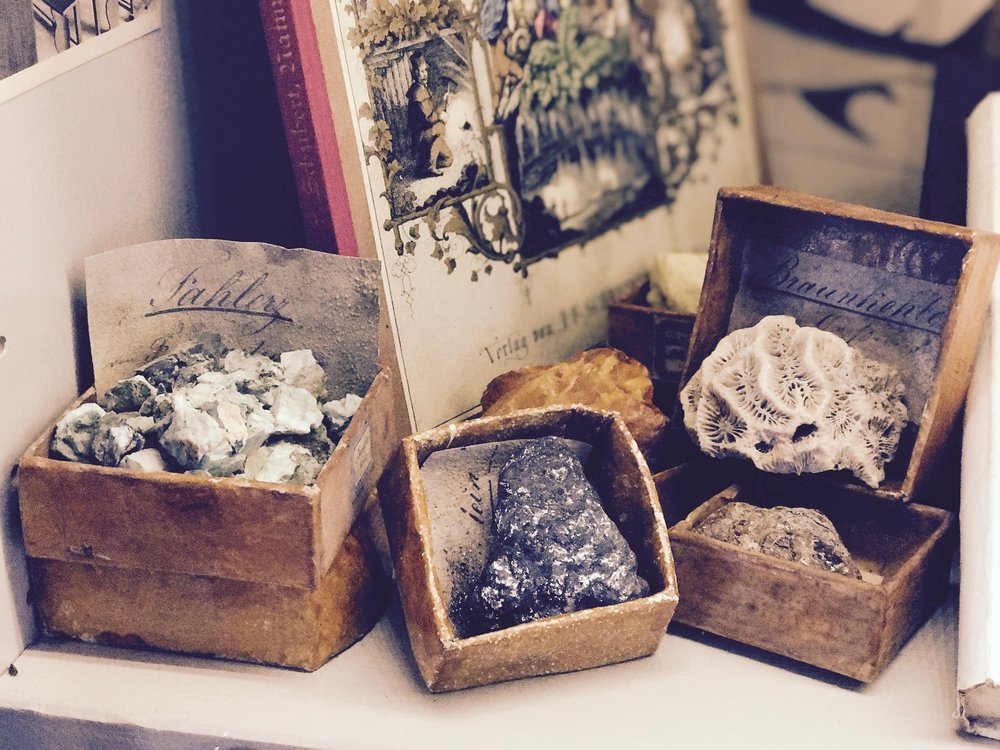mineral examples of the used in the nun's school